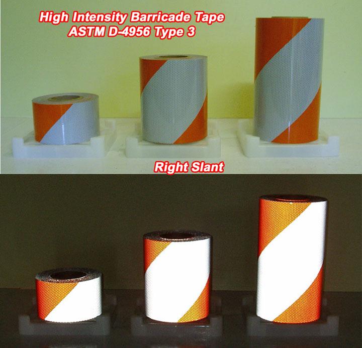high intensity grade type 3 barricade tape