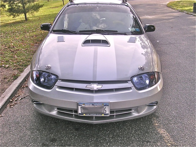 chevrolet cavalier or dodge neon racing rally stripes automobile Chevy Tuning the cavalier on this page uses a silver on silver theme this gives a very subtle look