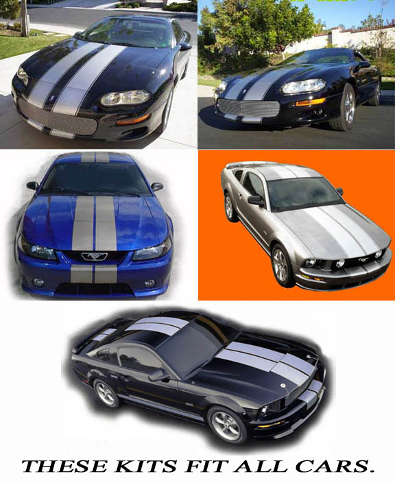 automobile racing vinyl stripes