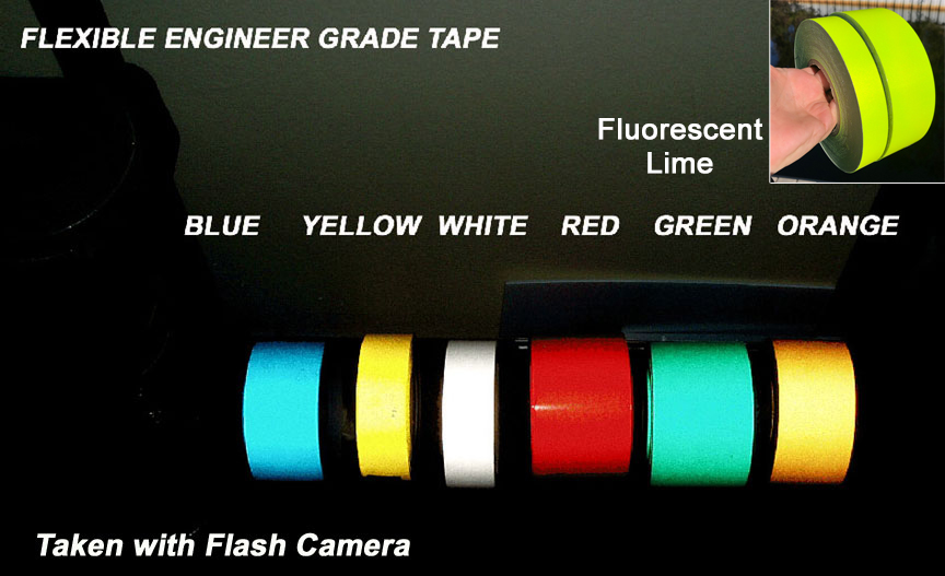 ultra light grade reflective tape