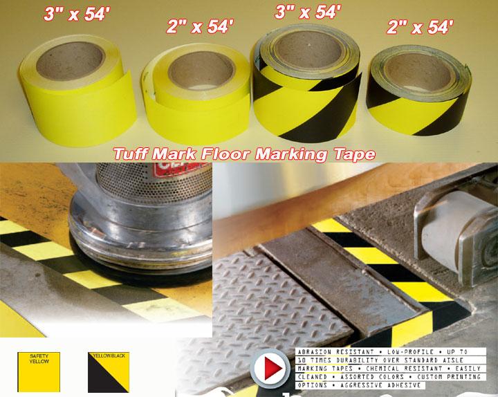 Colored Floor Tape Floor Marking Tape